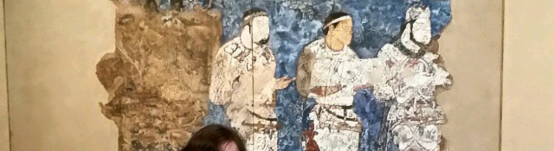 (Almost) visiting a Sogdian mural